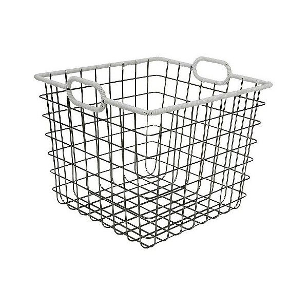 best 25  wire basket storage ideas on pinterest
