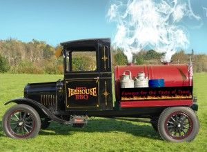 Antique Smoker Truck - I am so going to build one of these!