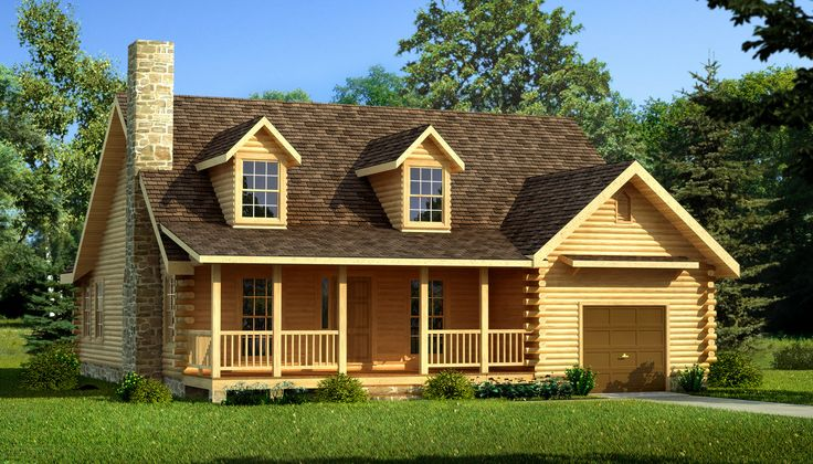 Lakeport log home cabin plans southland log homes for Southland log homes