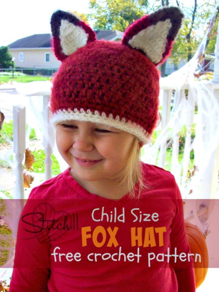 76 besten Crochet Hat Patterns Bilder auf Pinterest | Hut häkeln ...