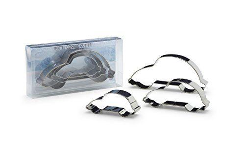 D'origine VW Coccinelle acier inoxydable Emporte-Pièces Emporte-Pièces Forme biscuit pâtisserie: Kit trois pièces emporte-pièces à biscuits…