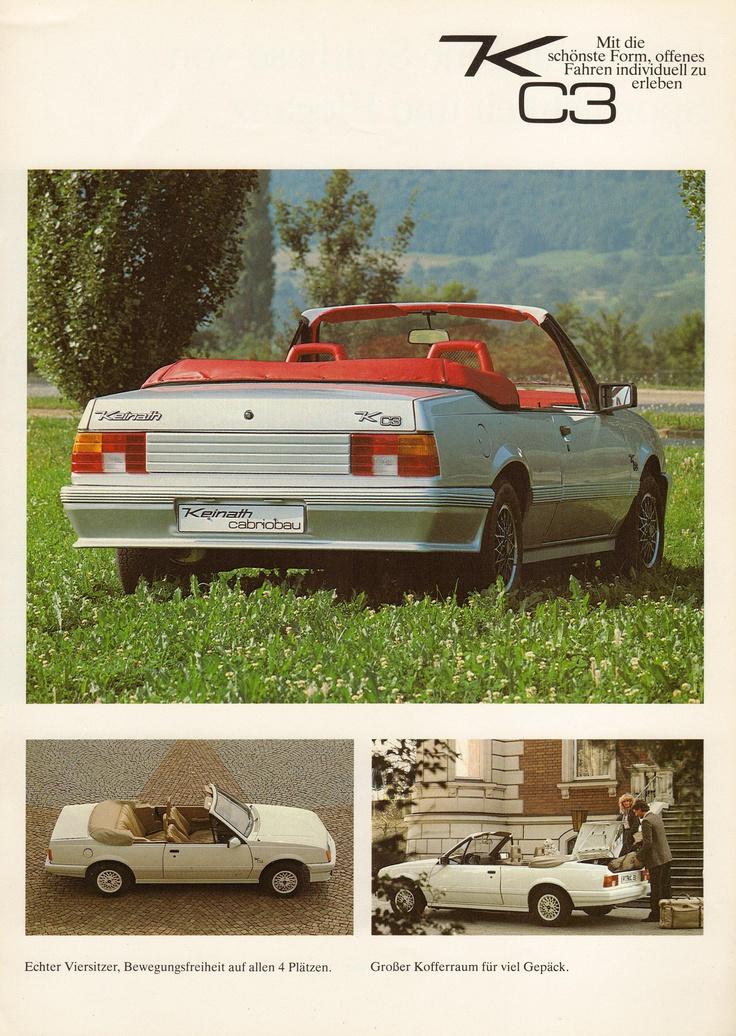 Opel Monza GSE cabrio by Keinath