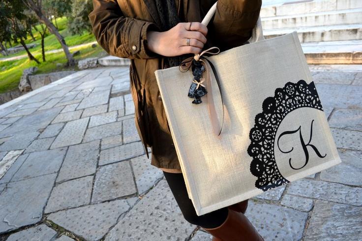 RozCat's custom made shopping bag!!