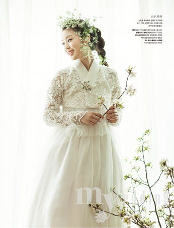 금단제 한복 Hanbok : Korean traditional clothes[dress] | #ModernHanbok #wedding