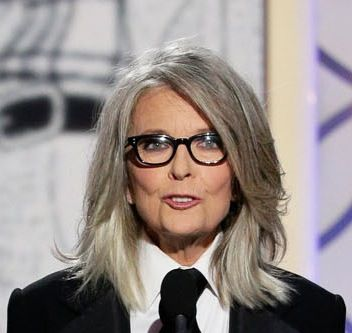 Love Diane Keaton's gray!