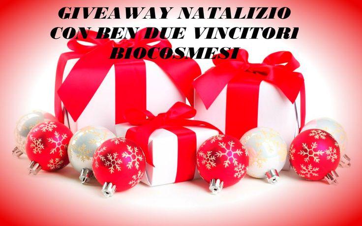Giveaway Natalizio per voi con bellissimi premi Nabla, La Saponaria, puroBio e altro!! Il Giveaway terminerà il 10.01.2016 Tutte le info quì https://youtu.be/bikmxqGGZGo