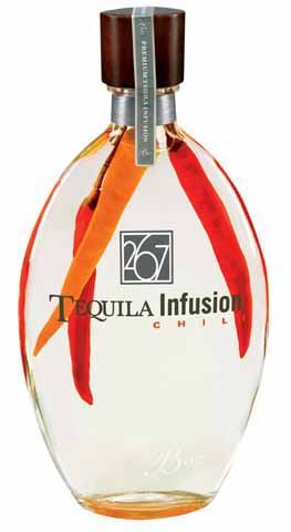 267 Chili Flavored Tequila. Looks hot IMPDO! #TequilaTuesday