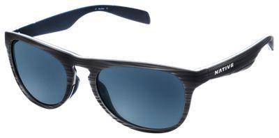 Native Eyewear Sanitas Polarized Sunglasses - Driftwood/Blue Reflex Mirror