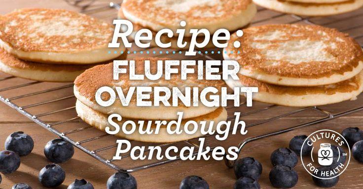 Fluffier Overnight Sourdough Pancakes