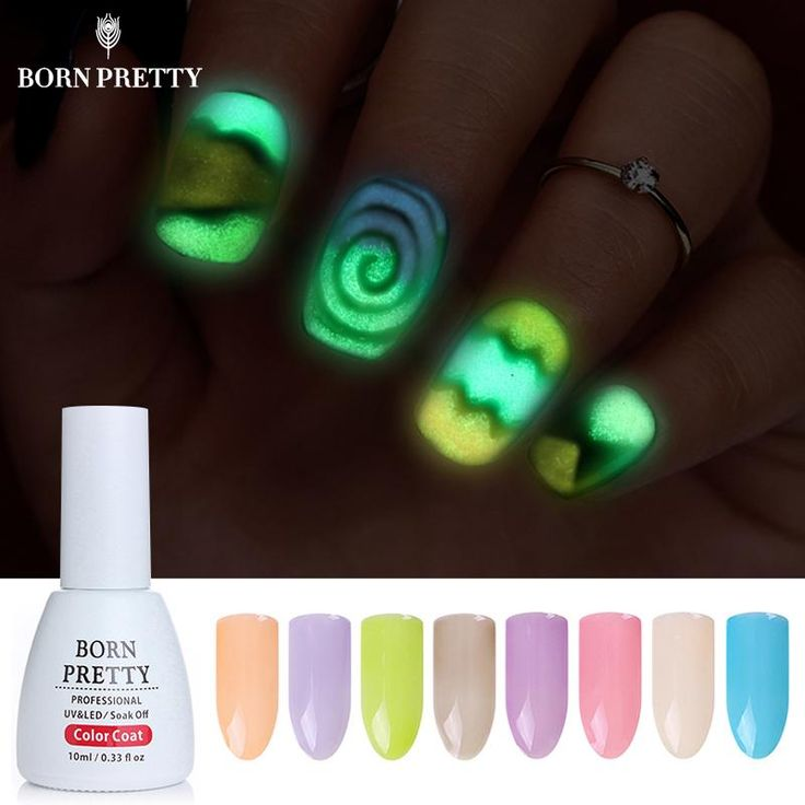 BORN PRETTY Fluorescent Nail Gel Candy Color 10ml Gel Polish