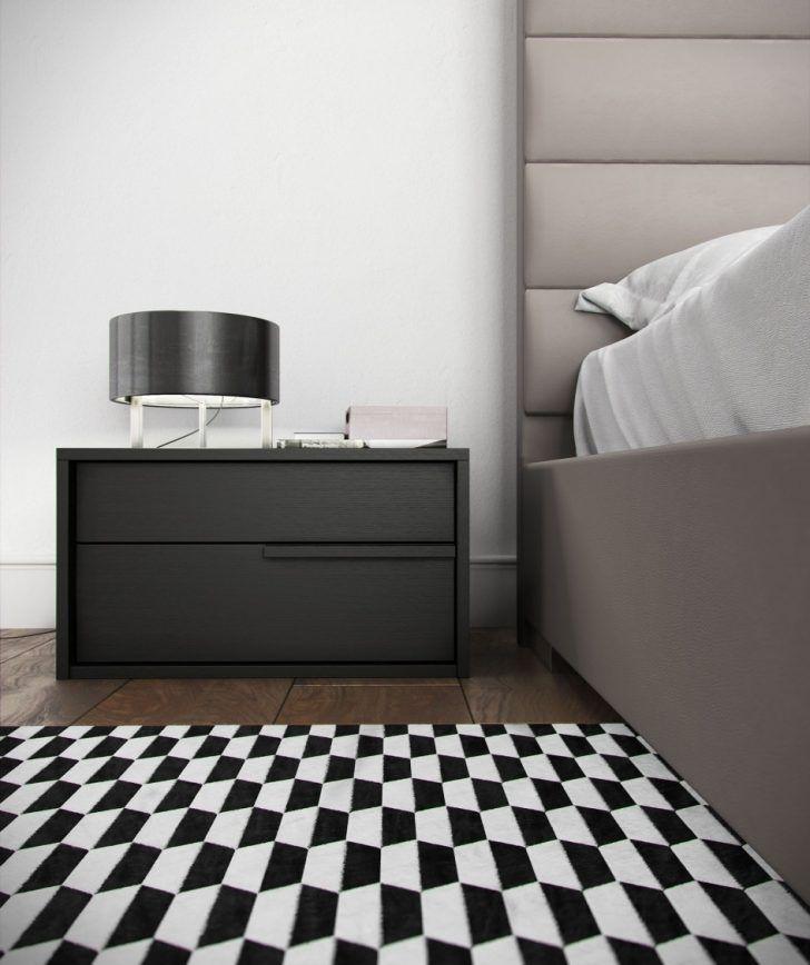 Dark grey nightstand for the modern home   www.bocadolobo.com #bocadolobo #luxuryfurniture #exclusivedesign #interiodesign #designideas #bedroomdesign #bedroomideas #nightstandsideas #bedsidetables #darkgreynightstand
