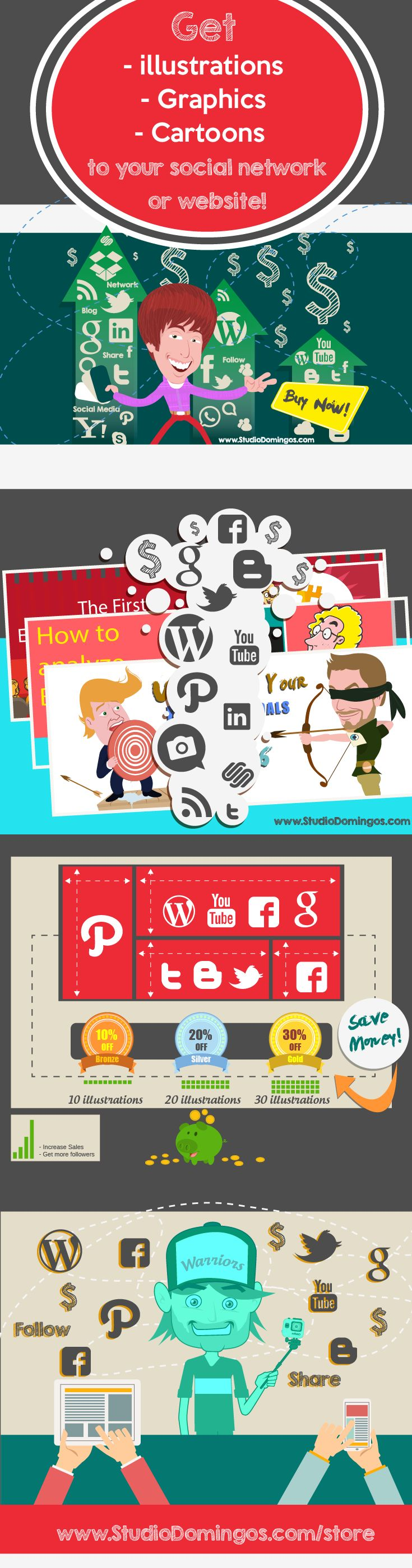 How to stand out on social networks?