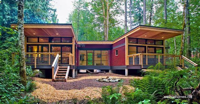 Prefab american house - Vivienda producida por Method Homes es una compañía de Seattle, Washington