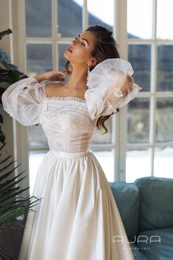 Wedding dress 'BRIGITTE'