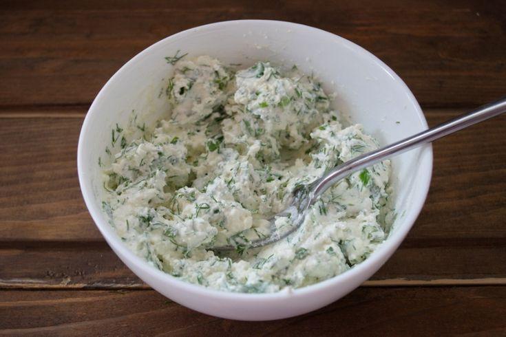 Творог с зеленью: все рецепты с фото