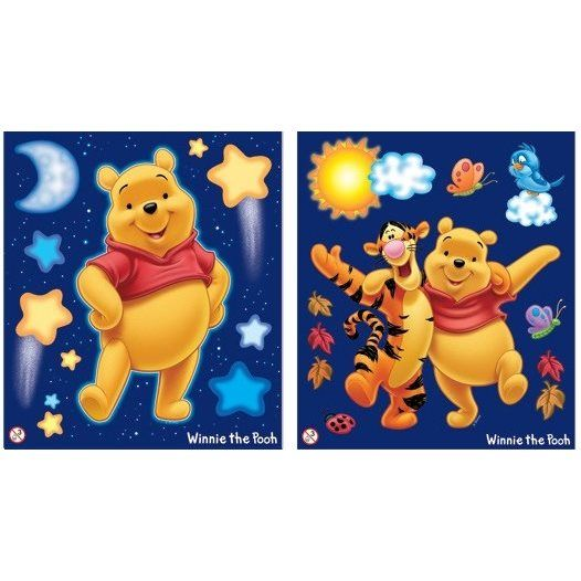 Disney - Nalle Puh 15-Pack 3D Wall Stickers