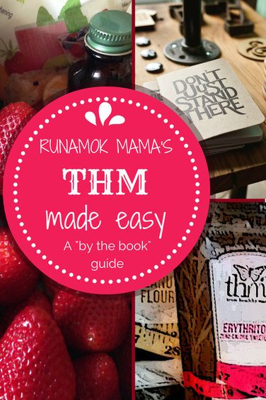 """RunAmok Mama's """"THM Made Easy - by the book beginner guide!"""""""