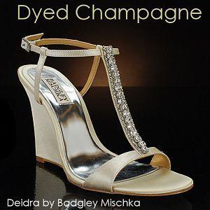 Wedge Wedding shoes