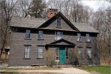 The Orchard House...Louisa May Alcott