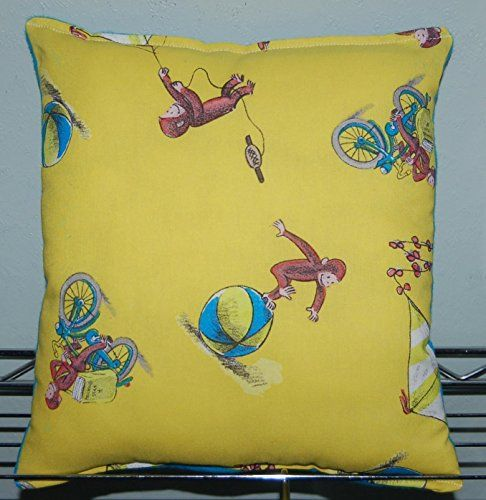 THE PILLOW WOULD MAKE GREAT GIFT FOR BIRTHDAYS,HOLIDAYS, NAP TIME, CAR RIDES, HOSPITAL STAYS, DAY CARES & MORE. ~BRAND NEW~ ~HANDMADE~ #Curious George This Cuddl...