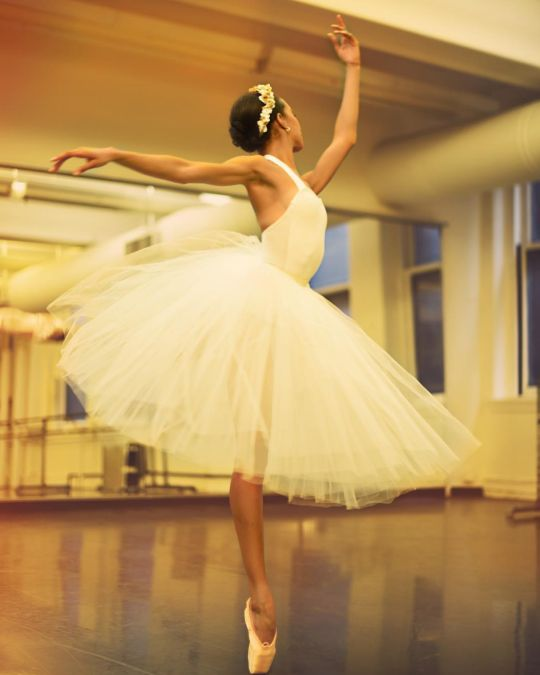 Courtney Lavine of American Ballet Theatre | Photography by Bukunmi Grace