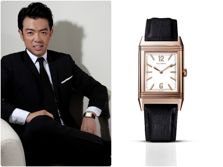 A milestone for both Jaeger-LeCoultre and Korean comedian Wonho Chung… a Jaeger-LeCoultre watch makes it into Arabic cinema, and the first time in history that a Korean acts in an Egyptian film!    Thoughts gentlemen?