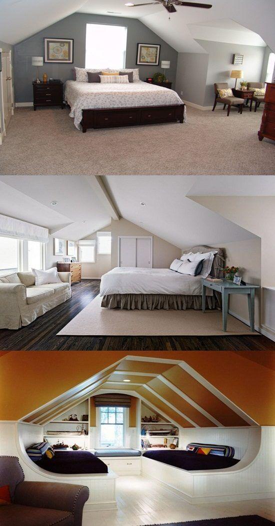 25+ Best Ideas About Attic Master Bedroom On Pinterest