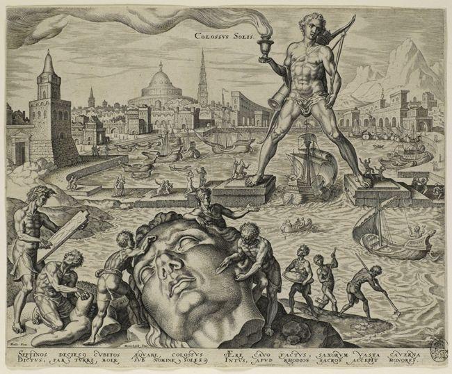 Staatliche Kunstsammlungen Dresden-The eight wonders of the world by Maarten van Heemskerck