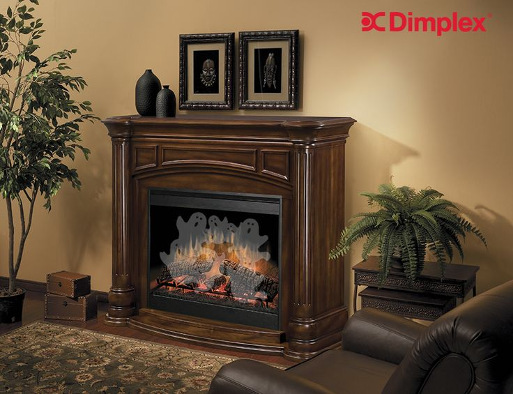 What's that? A new Dimplex fireplace feature? The Belvedere fireplace seems to be attracting a few spectres. Cosy up. It's #FurnitureFriday ! Learn more about this hauntingly beautiful electric fireplace |  http://www.dimplex.com/en/electric_fireplaces/mantels/products/gds30bw1053/belvedere_electric_fireplace