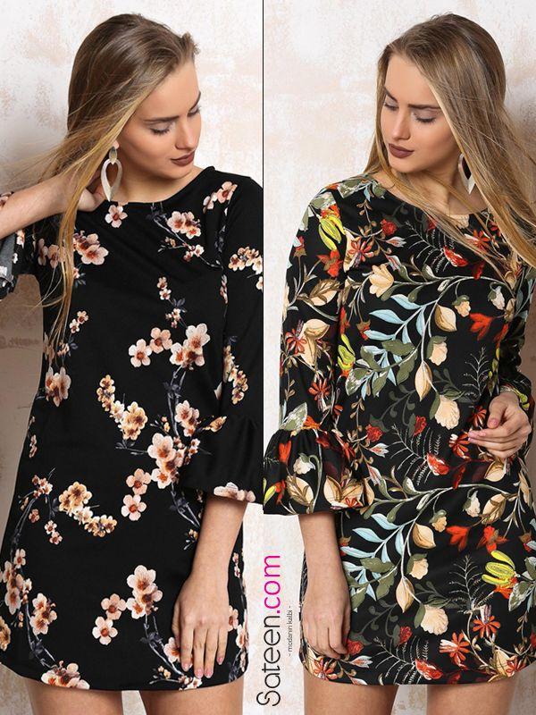 Bu sezon çiçekli elbiseler çok moda! #elbise