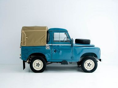 Land Rover Series III 88 Pickup. If this is not the neatest thing, I don't know what is!!!