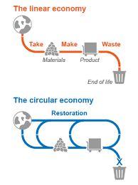 Image result for circular economy diagram graphic