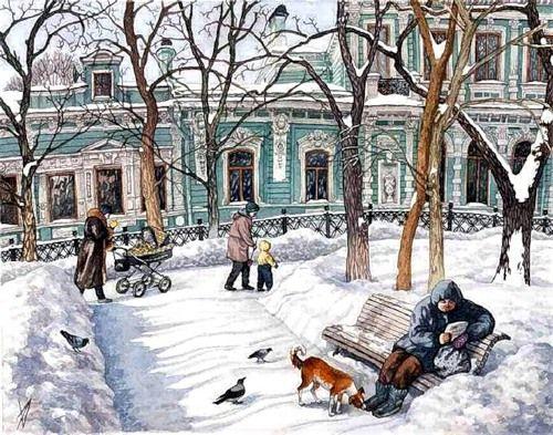 Russian artist Alena Dergilyova (Алёна Дергилёва)