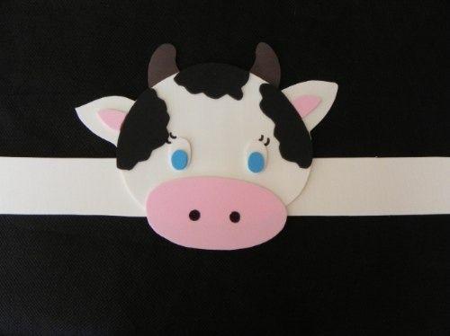 10 Vinchas De Animales - Goma Eva- Cotillon Infantil (Sombreros ...