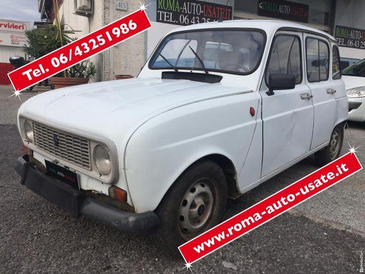 RENAULT R4 GPL DEL 1983 € 990'00