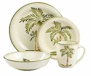 Palm Tree Dishes Court By Gibson For The Cabin Beach Tropical In 2018 Pinterest Dinnerware And