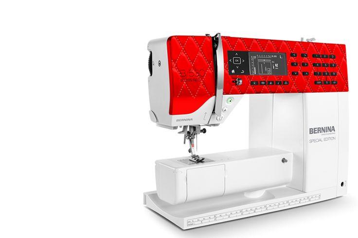 BERNINA 530 Swiss Red – clever and versatile - BERNINA
