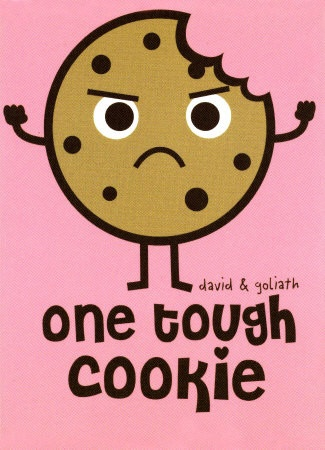 one tough cookie magnet