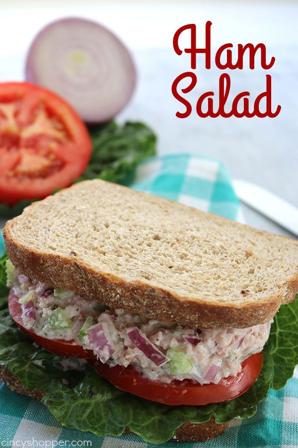 This Ham Salad Recipe is a great use for your leftover Holiday ham. Perfect for making sandwiches or wraps. Ham Salad Many of you will have leftover Easter Ham just like we did. Grab your ham and make this super simple and delicious Ham Salad. Spread it on your favorite bread for a yummy sandwich. Feel free...Read More
