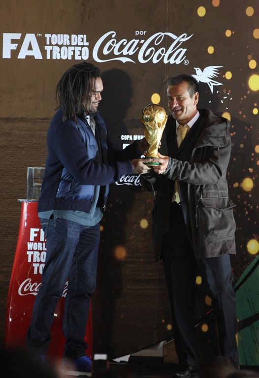 Trofeo de la Copa del Mundo en Monterrey (06 Febrero) Foto: Jorge López http://mmdeportes.telediario.mx/