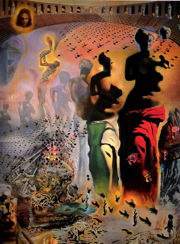 salvador dali paintings | 10-7_awesome_salvador_dali_prints_the_hallucinogenic_toreador