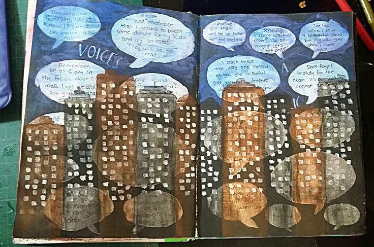 "Anti Journal ""Voices in a public place"" David Sinden; Nikalas Catlow #AntiJournal #ArtJournal"