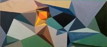 """Saatchi Art Artist Malvina - Carola Liuba; Painting, """"Scarred Letters 1"""" #art"""