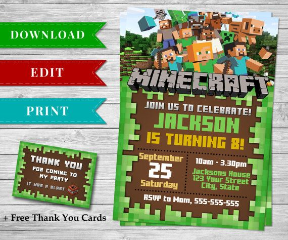 Best Minecraft Printable Papercrafts Images On