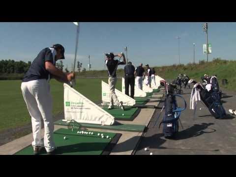 L'équipe de golf des Citadins de l'UQAM.