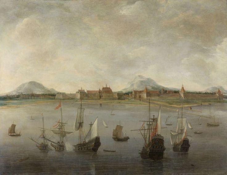 View of Batavia (Jakarta, Indonesia), by Hendrick Jacobsz Dubbels, 1640-76