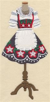 Machine Embroidery Designs at Embroidery Library! - German Folk Art