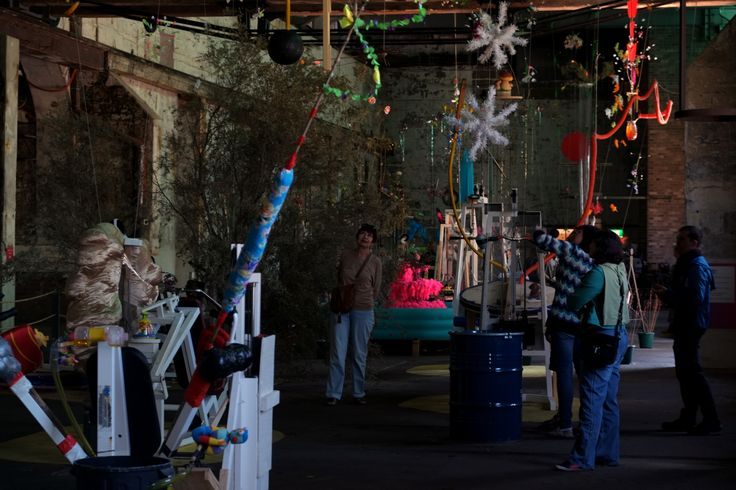 'Bush Power' by Gerda Steiner and Jorg Lenzlinger at the 19th Biennale of Sydney