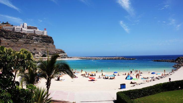 Sun, Sea & Sand @ Amadores Beach, Gran Canaria Spain!