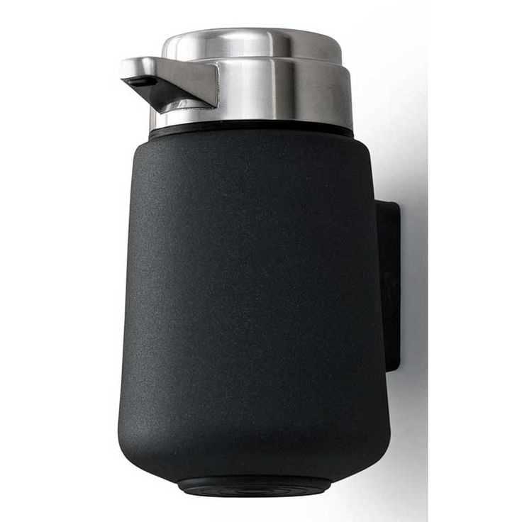 Vipp 9 Soap Dispenser Black Wall Mounted Vipp Royal